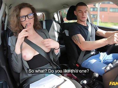 Measure Driving School - MILF Instructor Fucks Her Student 1 - Max Dior