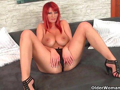 Hairy redhead