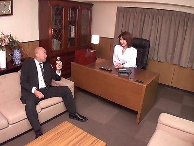 Horny Japanese chick Erika Nishino in Best JAV uncensored MILFs scene