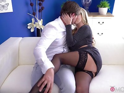 Georgie Lyall & Thomas Hyka in Gorgeous Uk Blonde Has Intimate Sex - MomXxx