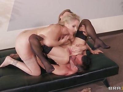 Julia Ann, Keiran Lee, Tanya Tate threesome