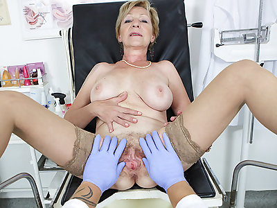 hairy 71 years old mammy pov fucked by the brush doctor