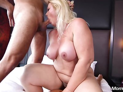 Crazy Milf Likes Copulation - mature BBW sex