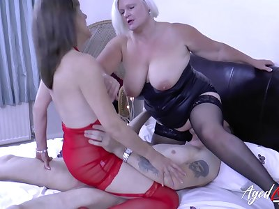 Big interior alien two nasty pornstars Lacey Starr and Pandora have sex with  horny guy