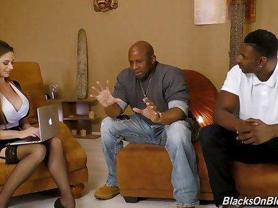 Cathy Heaven Hot Interracial Gangbang
