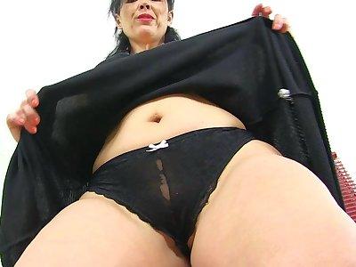 Lovely Spanish pornstar Montse Swinger
