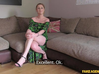 Lovely upper-cut lass makes go beyond a thus far impression on the casting couch