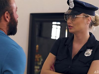 Natalia Starr - Caught Wits The Cops