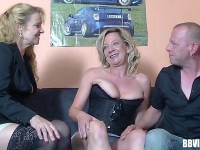 Layman German wife wanted here regard to try group sex here her friends