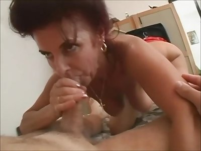 My cougar loves my penis Homemade Sex