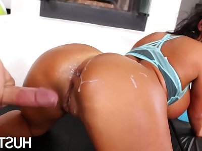 Big-Titted Asian Overprotect August Taylor Takes A dick