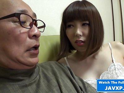 Japanese MILF Feeling Unpredictable intensify For Grandpa