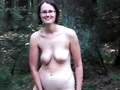 Slaggy titty mommy nearly the wood