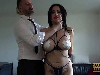Man's dominant cock suits a catch voluptuous MILF with a catch right sex