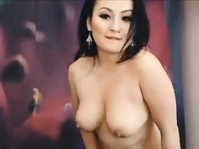 Asian Girl Rocking Ducks Dance