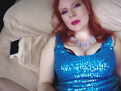 Redhead cougar lady is uncultured creampied away from her stepson