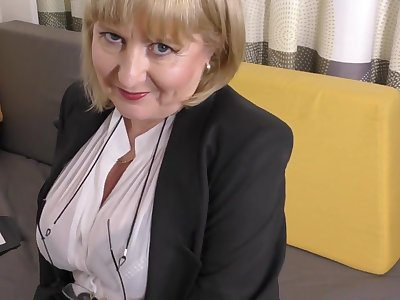 A highly glamour job embrocate by 57yo handsome Lorna blu
