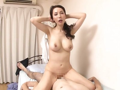 Misa Arisawa - Japanese mom in amateur hardcore scene - Asian tits