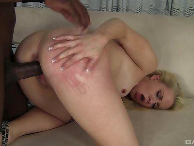 Closeup video be fitting of interracial sex with natural boobs Kristen Jordan